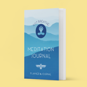 meditation journal mockup