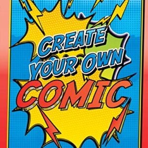 Create Your Own Comic - Super Fun Creative Blank Comics