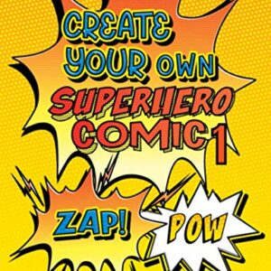 Create Your Own Superhero Comic 1