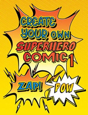 Create Your Own Superhero Comic 1