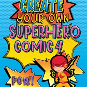 Create Your Own Superhero Comic 4