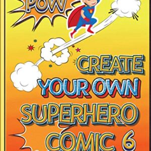 Create Your Own Superhero Comic 6