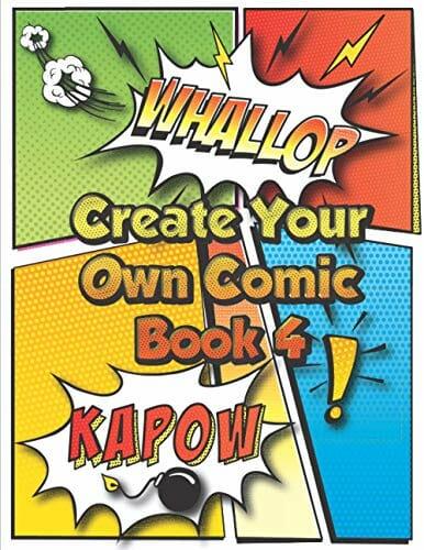 Create Your Own Comic Book 4 Super Fun Blank Comics Create Your Own Comic