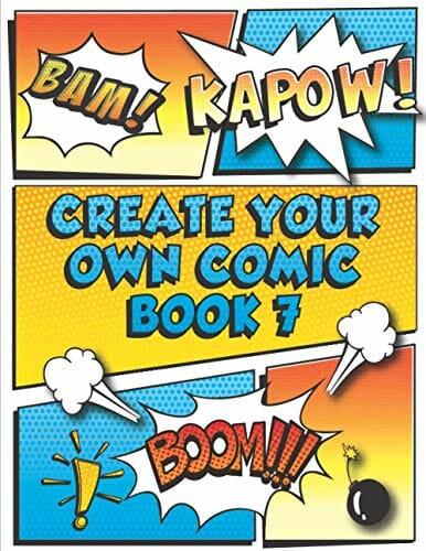 Create Your Own Comic Book 7 Super Fun Blank Comics Create Your Own Comic